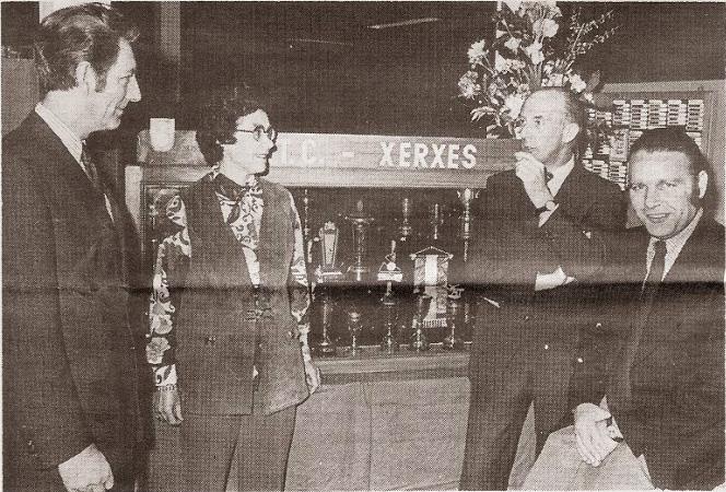 Tafeltennisclub Xerxes vierde feest