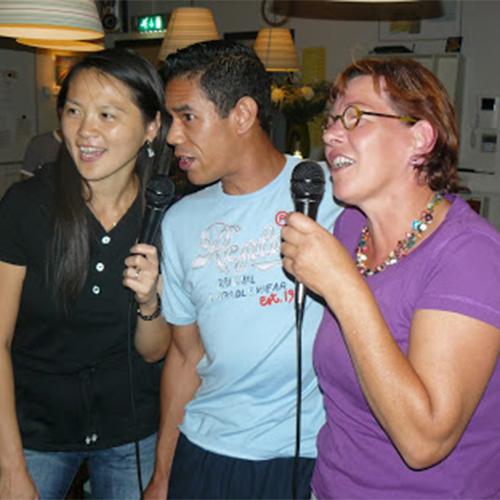 Karaoke augustus 2009