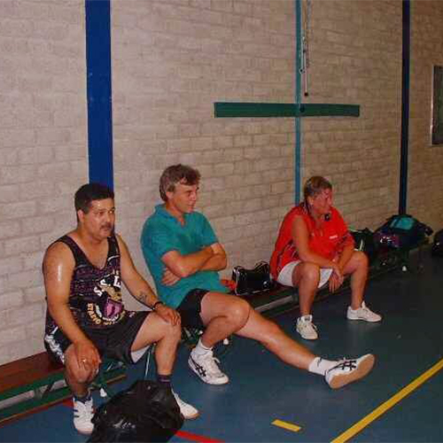 Trainingsweekend 2002
