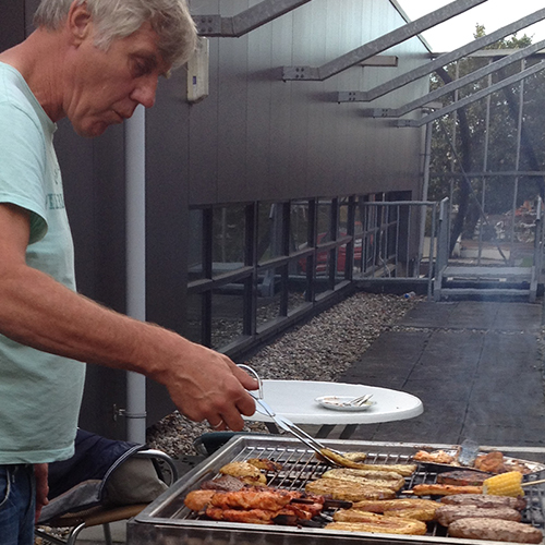 Trainingsweekend + BBQ 2014